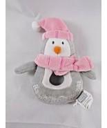 "Koala Baby Penguin Plush Rattle 6"" Toys R Us Stuffed Animal toy - $6.95"