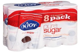 N'JOY - Pure Cane Sugar Canisters, 22 oz - 8 Count  - $17.60
