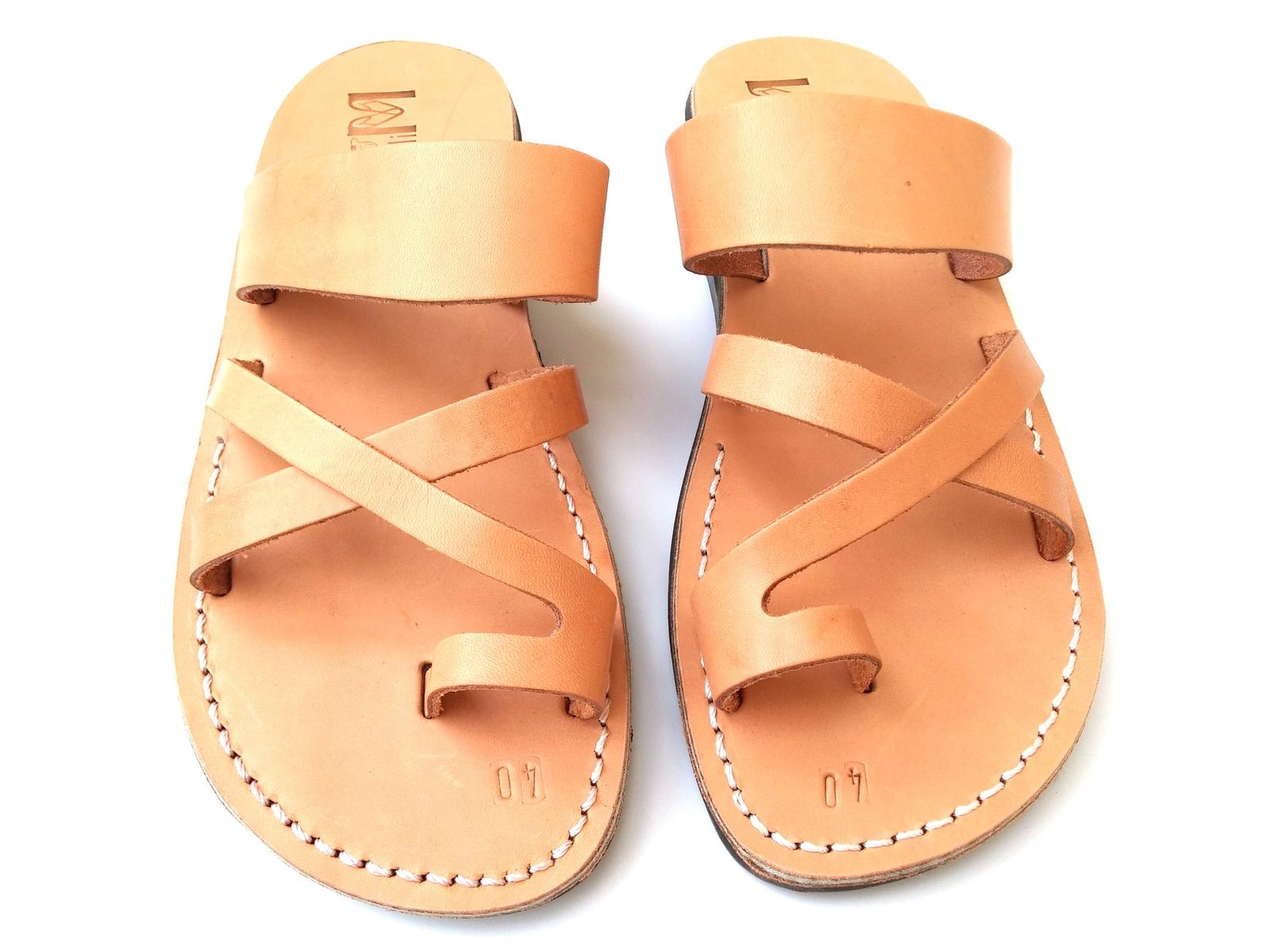 Leather Sandals for Men and Women ROMAN by SANDALIM Biblical Greek Summer Roman
