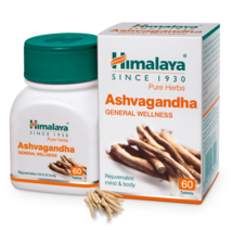 Himalaya Pure Herbs Ashvagandha General Wellness 60Tablet One Bottle  - $29.50