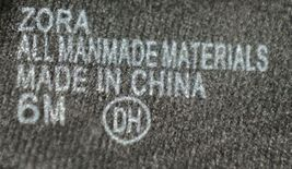 ELD 0386534 Pop Zora Zip Up Sandal Color Black Size 6M image 4