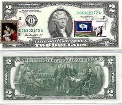 MONEY $2 DOLLARS 2009 STAMP CANCEL LUCKY MONEY & MADONNA CHRISTMAS VALUE... - $77.40