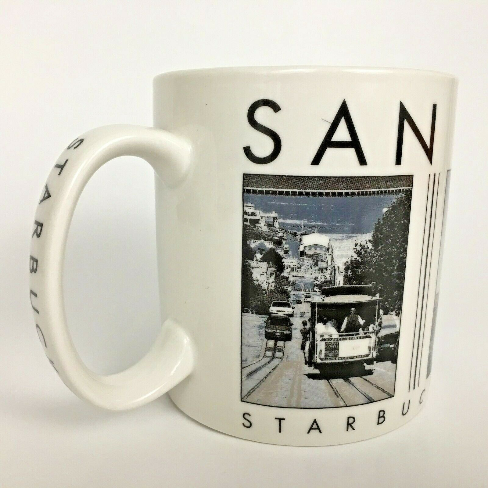 2005 Starbucks San Francisco Coffee Mug City Scenes Series 18 OZ Barista Cup - $14.31