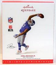 Odell Beckham JR 2016 Hallmark Ornament NFL Football Player New York Giants - $59.90