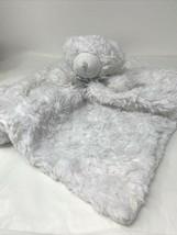 Baby Bear Lovey Blankets and Beyond Security Nunu White Rosette Plush Wa... - $9.99