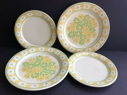 Vintage Franciscan Earthenware Picnic Plates Dinner Luncheon Plate