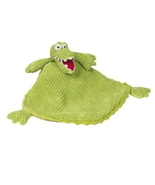 Maison Chic Green Alligator Crocodile Baby Security Blanket