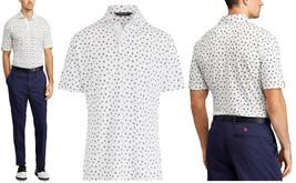 Ralph Lauren Polo Golf Classic Fit Jersey Shirt Biltmore Buds White/Black,XXL - $54.45