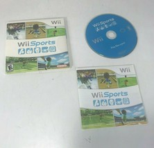 Wii Sports (Wii, 2006) Game Bowling Tennis Boxing Baseball Golf Complete... - $29.69