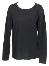 J Crew Mens Destination Cashmere Crewneck Sweater Pullover Sweater Black M K2392 - $82.79