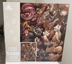 Disney Parks Dogs and Cats Two Sided 1000 Piece Puzzle  Darren Wilson NEW - $34.90