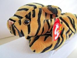 TY Beanie Babies STRIPES tiger Plush Toy  1995 - $4.99
