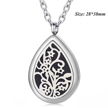 Free with Pads and Chain! Wholesale 28*38mm Magnetic Diffuser Pendant Te... - $13.46
