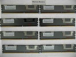 64GB (8X8GB) MEMORY FOR DELL POWEREDGE C1100 C2100 C6100 M610 M710