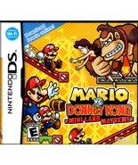 Mario vs. Donkey Kong: Mini-Land Mayhem (Nintendo DS, 2010) COMPLETE  - $12.75
