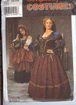 Simplicity 8249 Renaissance Costumes 18W-24W - $26.46