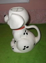 Vintage Treasure Craft Pottery Pitcher Disney 101 Dalmatians Dog - $74.25