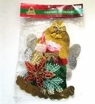 Vintage Hi-Lite Christmas Angel Decoration Foil... - $19.30