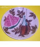 "EAMES ERA MID CENTURY MODERN RETRO--REDWING TAMPICO DINNER PLATE 10 1/2"" - $17.45"