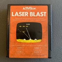 ATARI 2600 Laser Blast tested video game cartridge Activision David Crane 1981 - $1.99
