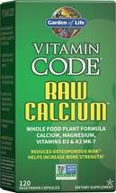 Vitamin Code Raw Calcium - 120 capsules - $39.98