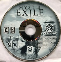 Myst 3 Exile PC/MAC, Myst III, Computer Game, 2001, Disc Only - $7.99