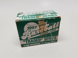 """Topps 1987 """"Traded"""" Series 132 Card Set Cards 1T -132T VG/NM - $14.73"""