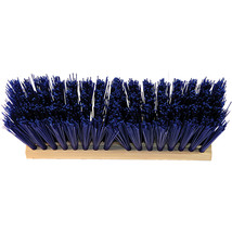 Hamburg Nexstep Blue Heavy Duty Street Broom Head Only 24 Inch 072627206127 - $48.84