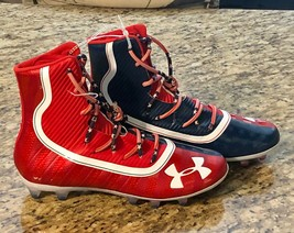 Under Armour Highlight Limited Edition USA Football Cleats 3021191-600 Sz 11 NEW - $89.97