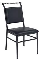 Acme Furniture Jodie Chair, Black Pu & Antique Black - $321.19