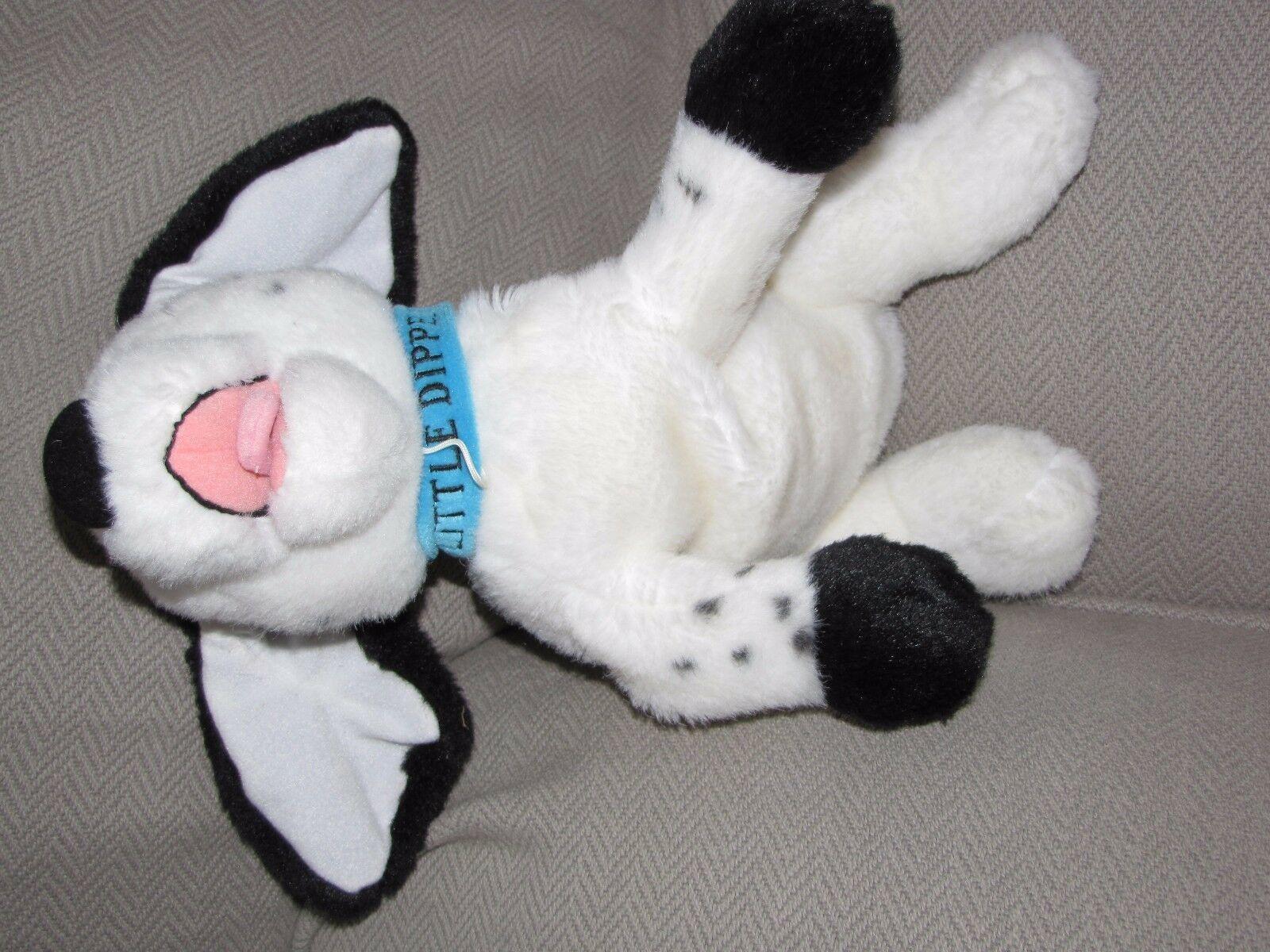 DISNEY STUFFED PLUSH 101 DALMATIANS DALMATIONS LITTLE DIPPER DOG BLUE COLLAR