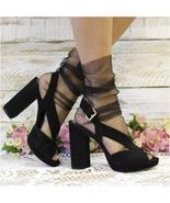 Sheer socks, BLACK, Tulle socks, socks for heels, lace socks, socks women - $14.99