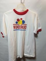 Vintage Wunderkind T shirt wonder bread white red XL vintage - $13.11