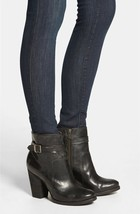 FRYE Patty Leather Riding Bootie Black Leather Size 5.5 - $89.10