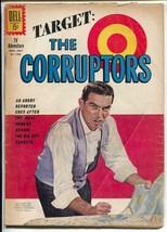 Target:The Corrupters-Four Color Comics-#1253 1962-Dell-Gerald McCannr-G - $35.31