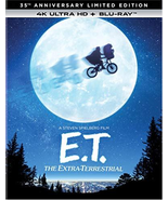 E.T. The Extra-Terrestrial 35th Anniversary (4K Ultra HD + Blu-ray)  - $12.95