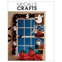 McCall's Patterns M5949 Ghosts, Bats, Treat Bags And Pumpkins, One Size Only - $8.81
