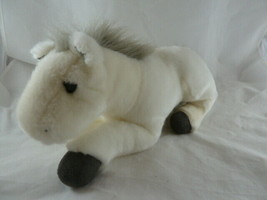"""Breyer White & Gray Horse Plush Soft and Pretty 2008 11"""" Excellent condition - $16.82"""