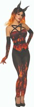 Forum Novelties Demons & Devils Fire Corset Adult Womens Halloween Costu... - $22.99