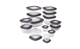 Storage Container Set Boxes Containers Food Bins Kitchen Plastic 28-Piec... - $47.36