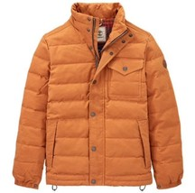 Timberland Men's Mt Davis Waxed Down Jacket, Wheat. Size:M - $148.67