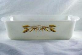 "Anchor Hocking Golden Wheat 1Quart 9"" Loaf Pan - $6.92"
