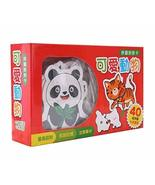 80 Pcs Picture Words Flash Cards Cute Animals Matching Cards Chinese Edi... - $22.20