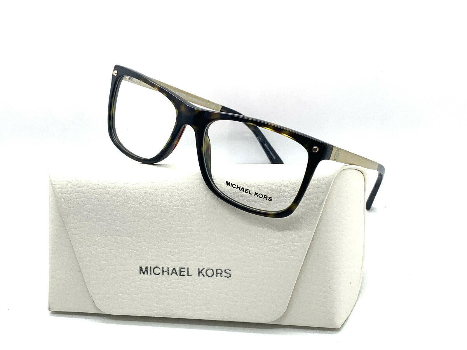 NEW MICHAEL KORS MK 4040 3106 HAVANA AUTHENTIC EYEGLASSES FRAME MK 4040 RX 52-16 - $77.57