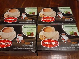 Indulgio Hot Cocoa Mix MINT Flavored 48 k-cups (4 Boxes of 12)  Keurig - $39.19