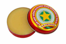 Vietnam Oil Cao Sao Vang 4g - Muscle Ache - Headache - Sinus relief (Pack of 5 ) image 3