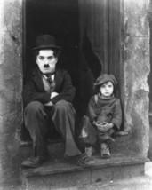 The Kid Charlie Chaplin Vintage 18X24 BW Movie Memorabilia Photo - $35.95
