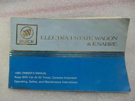 Buick Lesabre Electra Estate Wagon 1985 Owners Manual 14727 - $17.77