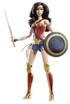 Barbie Collector Wonder Woman Dawn of Justice Gal Gadot Doll Mattel NIB/... - $49.95