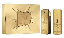 Men's Perfume Set 1 Million Paco Rabanne (2 pcs)  - $98.97